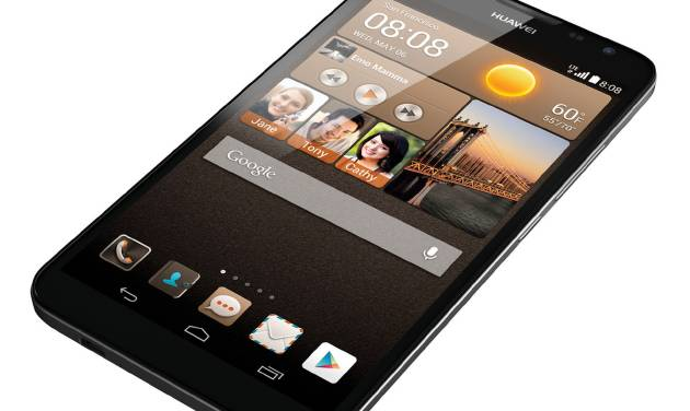 This undated product image provided by Huawei shows the Ascend Mate 2. (AP Photo/Huawei)