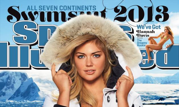 This image provided by Sports Illustrated shows the cover of the magazine's 2013 Swimsuit Edition featuring Kate Upton, which will launch across multiple platforms on Monday, Feb. 11, 2013. (AP Photo/Sports Illustrated, Derek Kettela) NORTH AMERICAN USE ONLY UNTIL MARCH 5 2013; MANDATORY CREDIT: SPORTS ILLUSTRATED/DEREK KETTELA