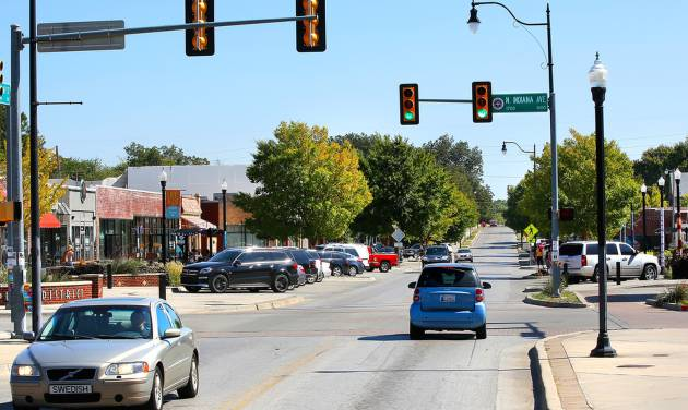 The Plaza District's parking supply will almost double with the addition of up to 80 spaces this summer along NW 16 and Blackwelder Avenue. [Photo by Jim Beckel, The Oklahoman]