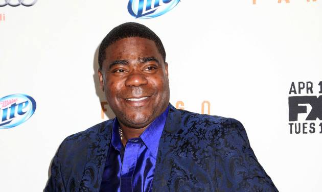 "FILE - Actor Tracy Morgan attends the FX Networks Upfront premiere screening of ""Fargo"" at the SVA Theater in this April 9, 2014 file photo taken in New York. Morgan is in critical condition at a hospital in New Brunswick, NJ Saturday morning June 7, 2014 following a violent multi-vehicle crash on the NJ Turnpike overnight. (Photo by Greg Allen/Invision/AP, File)"