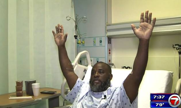 Officer who shot therapist has clean record