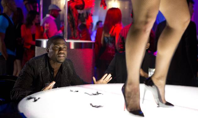 """This photo released by Sony Pictures shows Kevin Hart, left, as Cedric in a scene from Screen Gems' """"Think Like A Man Too."""" (AP Photo/Sony Pictures, Matt Kennedy)"""