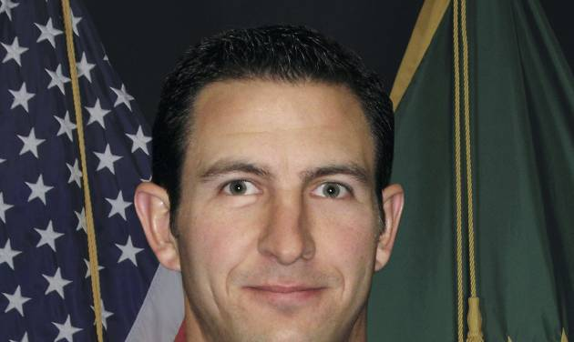 FILE - This undated photo provided by U.S. Customs and Border Protection shows slain Border Patrol agent Nicolas Ivie. Three U.S. Border Patrol agents responding to an alarm from an underground sensor were apparently in radio contact as they approached from opposite directions before opening fire on each other in the Arizona desert, leaving Ivie dead, according to a sheriff's report released Friday, Nov. 2, 2012. (AP Photo/U.S. Customs and Border Protection, File)