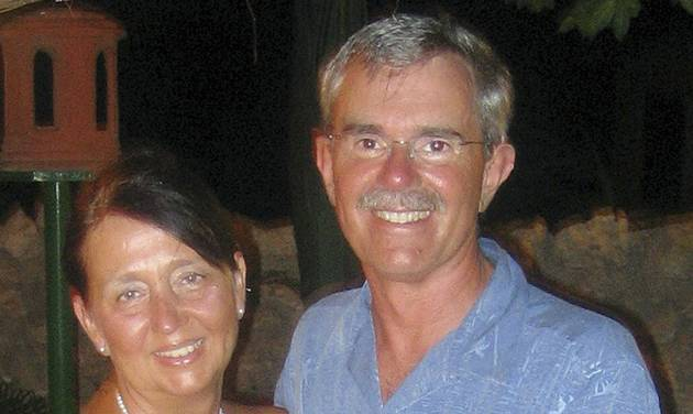 This undated photo provided by Melanie Bassi shows her parents, Denise and Gerard Bassi, who along with Bassi's grandmother were killed in an auto accident on Christmas Day 2007, when a pickup truck driven by an impaired driver crashed into the back of the vehicle in which she was riding. Bassi, a 36-year-old math teacher from Fairfield, Conn., speaks to offenders and high school students as she campaigns against impaired driving. (AP Photo/Courtesy of Melanie Bassi)
