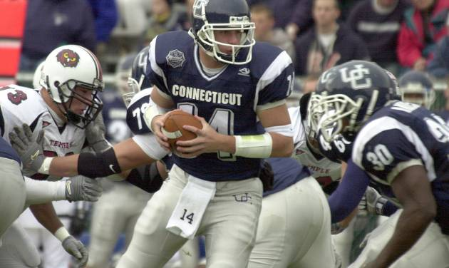 Sure, Connecticut finished the season on a five-game winning streak. It also lost to Temple and Rutgers. AP PHOTO
