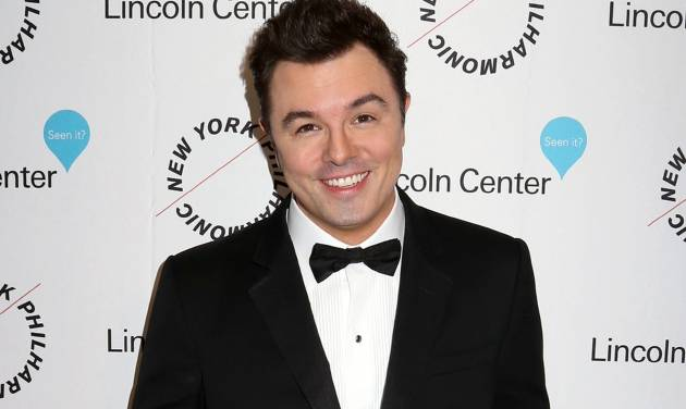 FILE - In this Dec. 3, 2015 file photo, Seth MacFarlane attends Sinatra: Voice for a Century concert in New York. MacFarlane is going to star in and produce a sci-fi TV series set 300 years in the future. Fox said Wednesday, May 4,  the series, described as a comedic drama, is intended for the network's 2017-18 season. (Photo by Greg Allen/Invision/AP, File)
