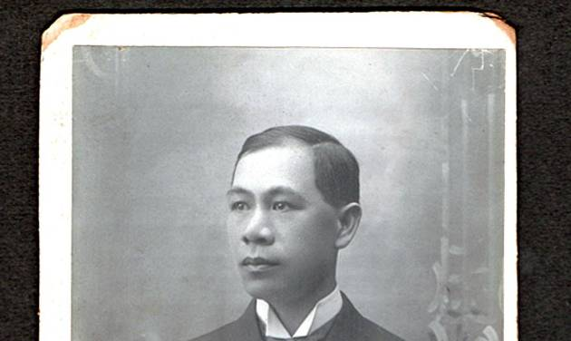 This undated family photo shows Hong Yeng Chang. Chang was an Ivy League graduate thought to be the first Chinese-born, United States-trained lawyer when the California Supreme Court denied his application to practice law in a 1890 decision. Now, students at a Northern California law school hope to persuade the current court to reverse the 124-year-old decision that is still studied in law schools. (AP Photo/Chang Family)