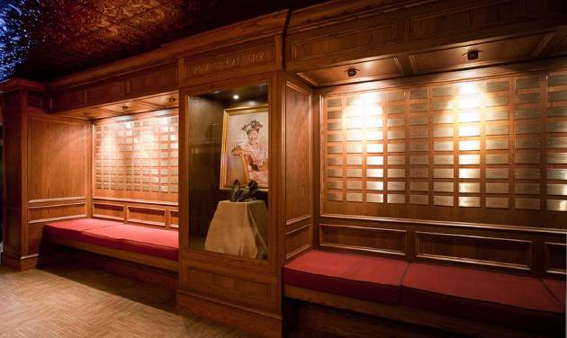In this image made available by the Grand Ole Opry in Nashville, TN.,  shows The Member Gallery on Oct. 28, 2010. The member gallery displays a plaque for every Opry member. The Grand Ole Pry is offering the VIP Behind the Opry Curtain Tour and Opry House Post Show Tour showing a variety of dressing rooms and inner workings of the Opry moments before the big curtain goes up.  (AP Photo/Grand Ole Opry, Chris Hollo)