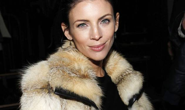 """Liberty Ross is seen at the Fall 2013 Alexander Wang Runway Show, on Saturday, Feb.  9, 2013 in New York. Ross says she's lying low in the wake of her very public split from husband, director Rupert Sanders. Ross filed for divorce in January, five months after news broke that Sanders had an affair with Kristen Stewart. Sanders directed both Stewart and Ross in """"Snow White and the Huntsman.""""  Ross also walked the runway for the Alexander Wang Spring 2013 collection on Sept. 8, 2012. (Photo by Amy Sussman/Invision/AP)"""