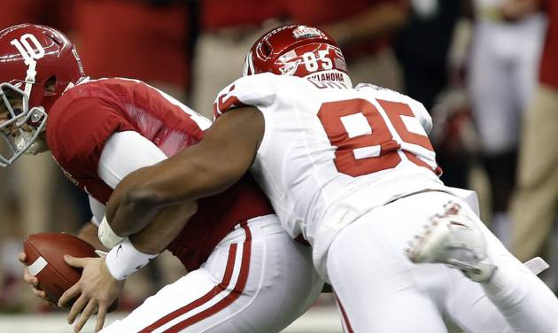 Expect OU and Alabama to make the College Football Playoff, says Berry Tramel. Photo by Chris Landsberger, The Oklahoman