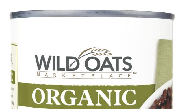 This product image provided Wal-Mart shows Wild Oats organic black beans. The world's largest retailer on Thursday, April 10, 2014 said that it has teamed up with Wild Oats to sell a new line of organic foods, starting this month, that's at least 25 percent cheaper than the national organic brands it carries and in line with the prices of its branded non-organic alternatives. Wild Oats helped pioneer the organic food trend in the late 1980s but has largely disappeared from store shelves since 2007. (AP Photo/Wal-Mart)