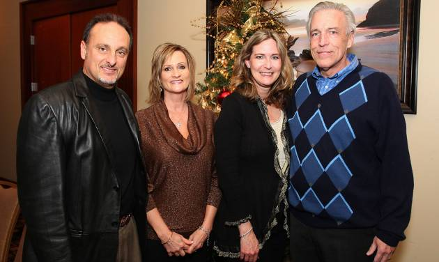 James Billingsley, Jeanne Harris, Lisa and Rex Hodges. Photo by David Faytinger for the Oklahoman____