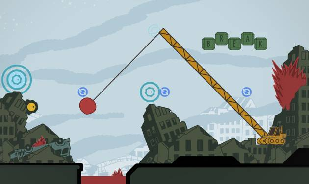 "This video game image released by Sony shows a scene from ""Sound Shapes."" (AP Photo/Sony)"