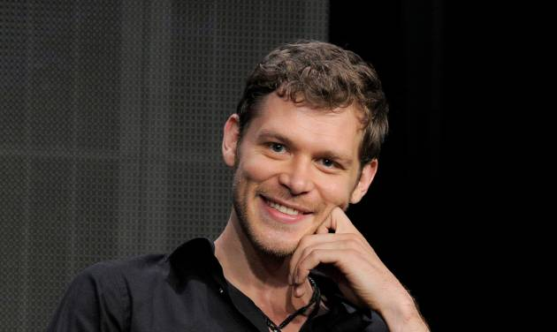 """This July 30, 2013 file photo shows actor Joseph Morgan at the """"The Originals"""" panel at the CW Summer TCA  in Beverly Hills, Calif.  The series, a spinoff of """"Vampire Diaries,"""" premieres Thursday, Oct. 3, at 9 p.m. on The CW. (Photo by Chris Pizzello/Invision/AP)"""