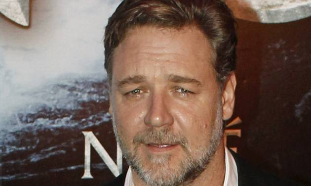 "FILE - In this April 1, 2014 file photo, New Zealand actor Russell Crowe poses for photographers at the premiere of his film ""Noah"" in Paris. Malaysia and Indonesia have banned the biblical epic ""Noah,"" joining other Muslim nations that forbid the Hollywood movie for its visual depiction of the prophet. Film censors in both countries said Monday, April 7, 2014, that the portrayal of the ark-building prophet by Crowe was against Islamic laws. Depictions of any prophet are shunned in Islam to avoid worship of a person rather than God. (AP Photo/Thibault Camus, File)"