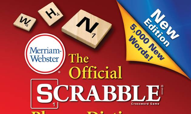 "This book cover image released by Merriam-Webster Inc. shows ""The Official Scrabble Players Dictionary: Fifth Edition."" The Official Scrabble Players Dictionary, out Aug. 11 from Merriam-Webster, has  5,000 new words. (AP Photo/Merriam-Webster)"