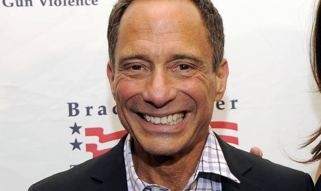 """FILE - This May 7, 2013 file photo shows TMZ.com founder Harvey Levin at The Brady Campaign to Prevent Gun Violence Los Angeles Gala in Beverly Hills, Calif. Levin is co-producing a new reality series, """"Famous in 12,"""" so named for the number of episodes on the CW that the good-looking clan from sleepy Beaumont, California, will get to prove themselves. The family, a writer-mom and model-daughter among them, were picked from among 10,000 videos submitted more than a year ago, Levin said Thursday, May 22, 2014, by phone from Los Angeles. (Photo by Chris Pizzello/Invision/AP, File)"""