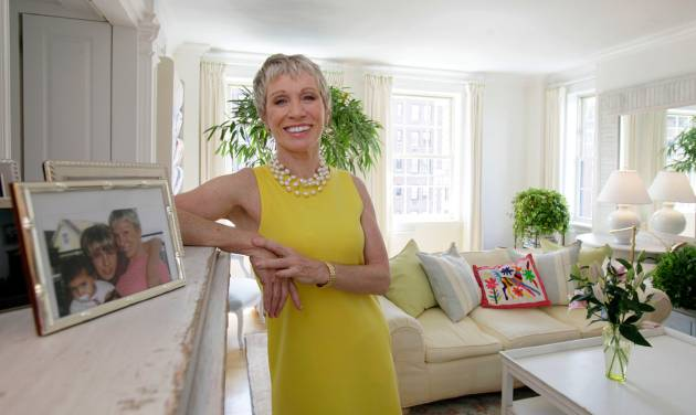 "FILE - In this June 6, 2011 file photo, Barbara Corcoran poses for photos in her Park Avenue apartment in New York. Corcoran, one of the investors on the ABC program ""Shark Tank,"" has years of experience running a successful New York real estate brokerage. Over the nearly 30 years she owned Corcoran Group, she took chances, made some mistakes and ended up selling it for $66 million. (AP Photo/Richard Drew, File)"