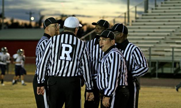 Oklahoma officials will have more to work with this season now that the National Federation of State High School Associations has defined targeting. PHOTO PROVIDED BY MIKE HOWARD