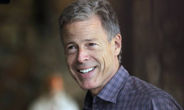 FILE - In this Tuesday, July 10, 2012 file photo, Time Warner CEO Jeff Bewkes arrives at the Allen & Company Sun Valley Conference in Sun Valley, Idaho. Time Warner reports their fourth quarter 2012 earnings on Wednesday, Feb. 6, 2013. (AP Photo/Paul Sakluma, File)