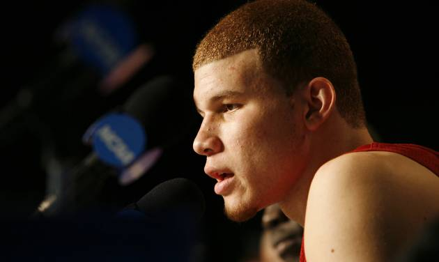 Oklahoma's Blake Griffin is widely expected to be the No. 1 pick in the NBA Draft.  PHOTO BY CHRIS LANDSBERGER, THE OKLAHOMAN