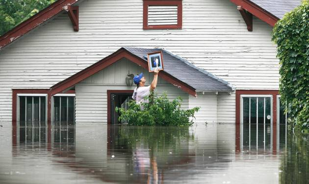A federal report's recommendations could mean higher flood insurance rates for Oklahomans, who have been hit hard in recent years.  AP ARCHIVE PHOTO
