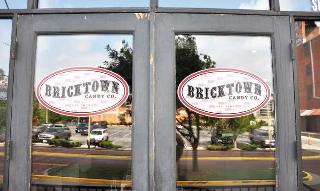 The doors to the new Bricktown Candy Co.  PROVIDED BY BRICKTOWN  CANDY CO.