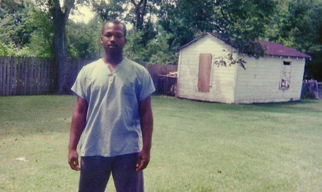CORRECTS YEAR OF BALLARD'S DEATH TO 2013, INSTEAD OF 2014 - This 1990 photo provided by Curtis Griffin of his step-son Bradley Ballard shows Ballard in Houston when he was 16.  In September of 2013, 39-year-old Ballard, who was mentally ill and an inmate at the Rikers Island jail in New York, died there after being locked alone in his cell for seven days. Documents obtained by The Associated Press show Ballard was checked on dozens of times in his cell before he was rushed to a hospital, where he died hours later. Ballard, found naked, covered in feces with a rubber band tied around his badly infected genitals, was jailed in a similar mental health unit at Rikers Island where another mentally ill inmate died in a 101-degree cell in February. (AP Photo/Curtis Griffin)