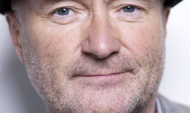 FILE - In this Aug. 26, 2010 file photo, musician Phil Collins poses for a portrait in New York. Collins was scheduled to the Alamo on Thursday June 25, 2014 to announce that he is donating his collection of artifacts from the Alamo to the former mission and Texas revolutionary fort. (AP Photo/Victoria Will, file)