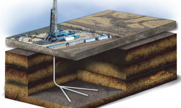 SandRidge Energy Inc. is trying new drilling techniques, including three lateral sections from one well bore, to boost production and cut costs. The company also drills stacked laterals to access multiple producing zones.    -  SandRidge Energy Inc.
