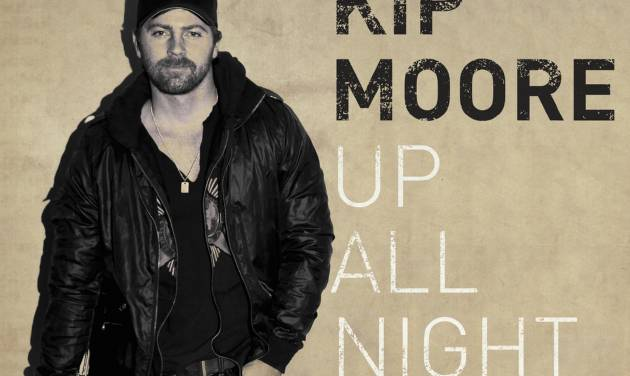 """In this CD cover image released by MCA Nashville, the latest release by Kip Moore, """"Up All Night,"""" is shown. (AP Photo/MCA Nashville)"""