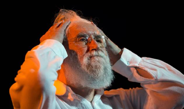 """Liberation Theologist Leonardo Boff, of Brazil, pauses as he attends the launching of a book by Clelia Luro, the wife of former bishop Jeronimo Podesta, in Buenos Aires, Argentina, Saturday, April 27, 2013. Boff says Pope Francis has what it takes to fix a church """"in ruins."""" Previous popes tried to silence the Brazilian leftist, but Boff says the former Argentine cardinal who became pope last month has both the vigor and tenderness to create a new spiritual world. (AP Photo/Victor R. Caivano)"""