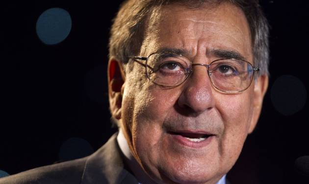 FILE - In this June 22, 2012 file photo, Secretary of Defense Leon Panetta speaks about suicide prevention at the annual Suicide Prevention Conference held by the Dept. of Defense and Veterans Administration, in Washington.  Suicides in the U.S. military surged to a record 349 in 2012.   (AP Photo/Jacquelyn Martin)