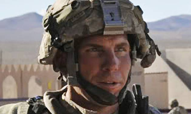 FILE - In this Aug. 23, 2011, file photo, Defense Video & Imagery Distribution System photo, Staff Sgt. Robert Bales, 1st platoon sergeant, Blackhorse Company, 2nd Battalion, 3rd Infantry Regiment, 3rd Stryker Brigade Combat Team, 2nd Infantry Division participates in an exercise at the National Training Center at Fort Irwin, Calif. The preliminary hearing for Bales, accused of killing 16 Afghan civilians in March, begins Monday, Nov. 5, 2012, with villagers expected to testify by video from Kandahar Air Field in Afghanistan. Bales is scheduled to appear at Joint Base Lewis-McChord for the pretrial hearing, which is expected to last two weeks. (AP Photo/DVIDS, Spc. Ryan Hallock, File)