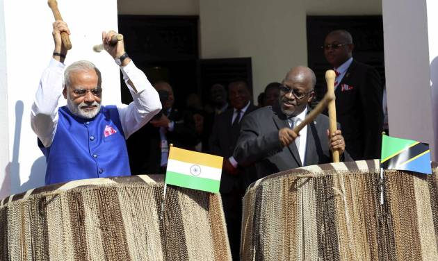 PM Modi leaves for India after four-nation African tour