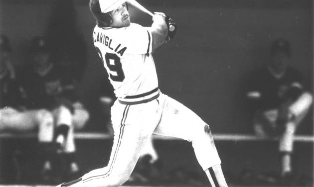 Pete Incaviglia, OSU baseball player (Photo originally taken 04/21/85)
