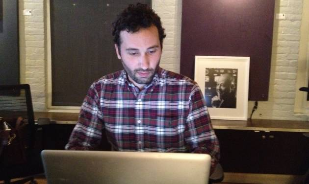 "In this undated image released by Gawker.com, Joe Muto, Gawker's Fox Mole, is shown. Muto, the former Fox News associate producer who was fired last month after writing a few anonymous pieces for the news blog Gawker, has an agreement with Dutton for a memoir coming out in early 2013. The imprint of Penguin Group (USA) announced Friday, May 4, 2012, that the book will be called ""An Atheist in the Foxhole."" (AP Photo/Gawker.com, John Cook)"