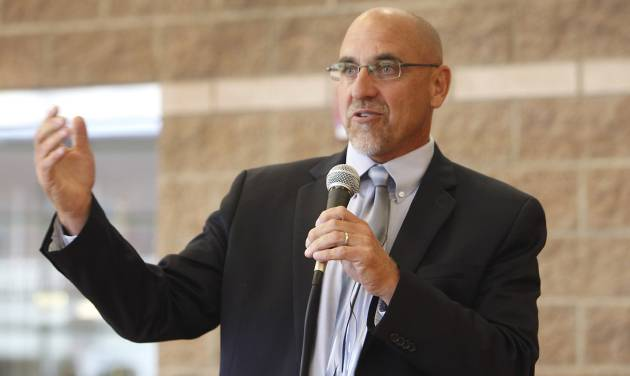 Oklahoma City Public Schools Superintendent Rob Neu speaks July 3 during a tour of the summer learning program sponsored by the city of Oklahoma City and the school district. By David McDaniel, The Oklahoman Archives   David McDaniel -
