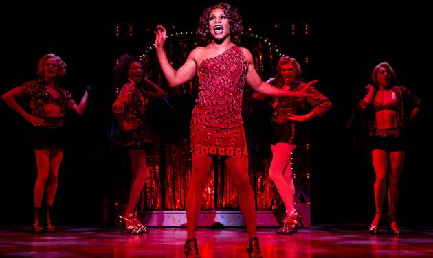 "This theater image released by The O+M Company shows Billy Porter during a performance of ""Kinky Boots."" ""Kinky Boots,"" ""Matilda: The Musical,"" ""Pippin"" and ""Rodgers + Hammerstein's Cinderella"" , the four shows that got the most nominations Tuesday, April 30, 2013, either lost money or saw only small increases, according to data released Monday, May 6, from The Broadway League.  The Cyndi Lauper-scored ""Kinky Boots"" has earned a leading 13 Tony Award nominations.  (AP Photo/The O+M Company, Matthew Murphy)"