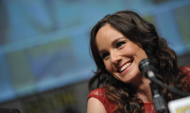 "COMMERCIAL IMAGE - Sarah Wayne Callies at AMC's ""The Walking Dead"" Autograph Signing and Panel on Friday July 13, 2012, in San Diego. (Photo by John Shearer/Invision for AMC/AP Images)"