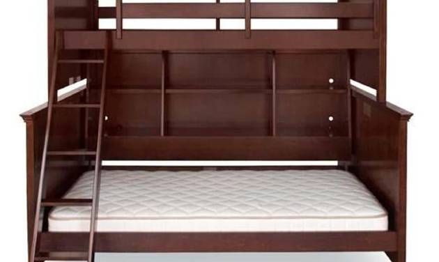 This undated photo provided by the U.S. Consumer Product Safety Commission shows a Lea Industries Covington Collection bunk bed. The Covington and Hannah Collection bunk beds are being recalled because they can be assembled incorrectly, creating a space that exceeds the 1.88 inches allowed by the industry standard, posing an entrapment hazard to young children. (AP Photo/U.S. Consumer Product Safety Commission)