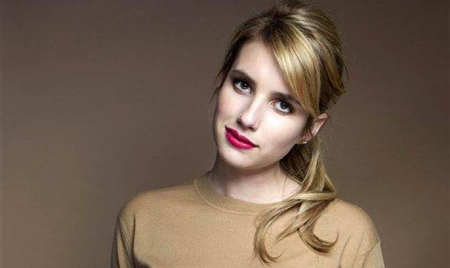 This Oct. 19, 2012 photo shows American actress Emma Roberts posing for a portrait in New York. Roberts isn't just making a name for herself as a rising star in Hollywood. The 21-year-old routinely gets name-checked in magazines for her style on the red carpet. (Photo by Victoria Will/Invision/AP)