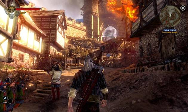 """In this video game image released by Warner Bros., a scene is shown from """"The Witcher 2: Assassins of Kings."""" (AP Photo/Warner Bros.)"""
