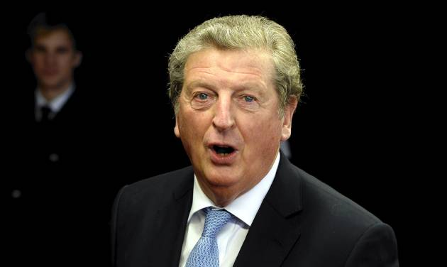 England manager Roy Hodgson arrives on the red carpet prior to the FIFA Ballon d'Or 2013 gala held at the Kongresshaus in Zurich, Switzerland, Monday, Jan. 13, 2014. (AP Photo/ Keystone,Walter Bieri)