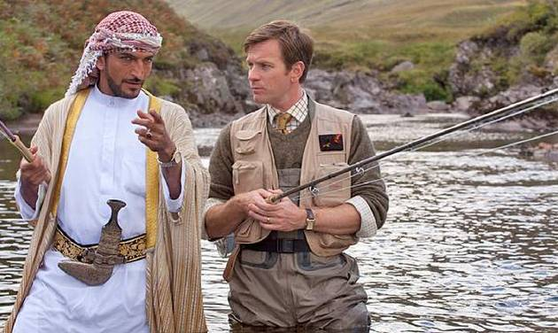 """This image released by CBS Films shows Ewan McGregor in a scene from the film, """"Salmon Fishing in the Yemen."""" The film was nominated for a Golden Globe for best comedy or musical, Thursday, Dec. 13, 2012. McGregor was nominated for best actor in the film. The 70th annual Golden Globe Awards will be held on Jan. 13. (AP Photo/CBS Films)"""