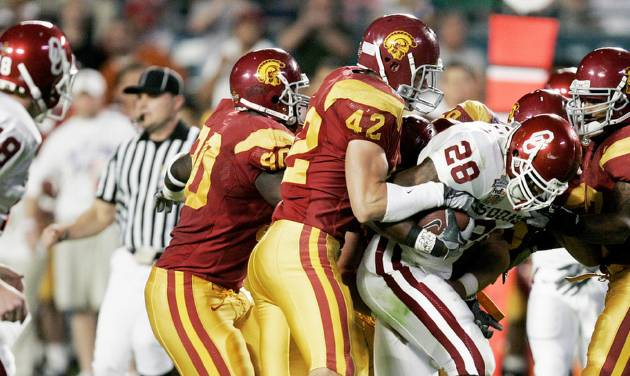 USC, who is No. 1 in the decade's top 25, defeated Oklahoma in the 2005 BCS title game. PHOTO BY BRYAN TERRY, THE OKLAHOMAN ARCHIVE