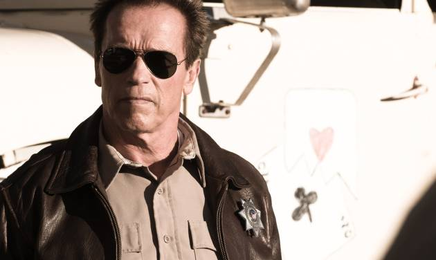"FILE - This publicity film image released by Lionsgate shows Arnold Schwarzenegger in a scene from, ""The Last Stand."" (AP Photo/Lionsgate, Merrick Morton, File)"