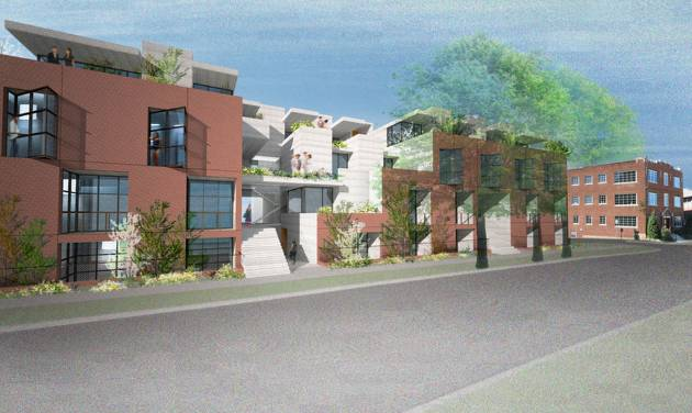 Midtown Renaissance Group is set to building a 43-unit apartment complex at 1201 N Francis - one of three such developments being planned in west side of the downtown neighborhood.  Brian Fitzsimmons