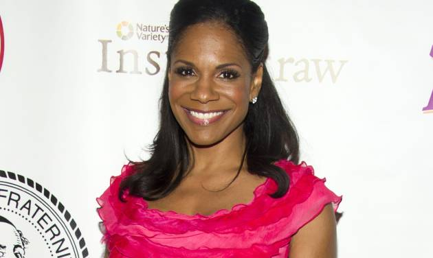 """FILE - This May 16, 2012 file photo shows Audra McDonald at the Friars Club Roast of Betty White in New York. McDonald's new CD,"""" Go Back Home"""" includes classics like Stephen Sondheim's """"The Glamorous Life,"""" the Richard Rodgers-Oscar Hammerstein II's """"Edelweiss,"""" and """"First You Dream,"""" from the John Kander and Fred Ebb show """"Steel Pier.""""  (AP Photo/Charles Sykes, file)"""
