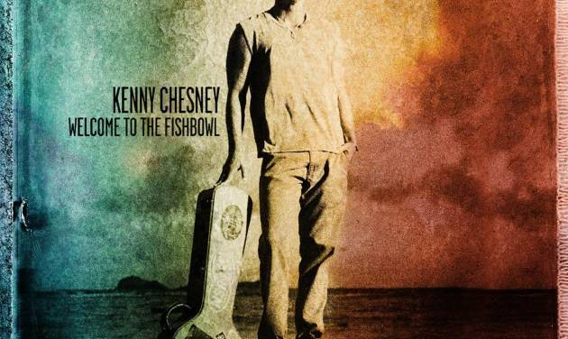 """This CD cover image released by Columbia Nashville shows the latest release by Kenny Chesney, """"Welcome to the Fishbowl."""" (AP Photo/Columbia Nashville)"""